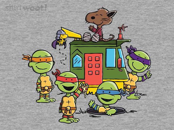 Woot!: Teenage Peanut Ninja Turtles