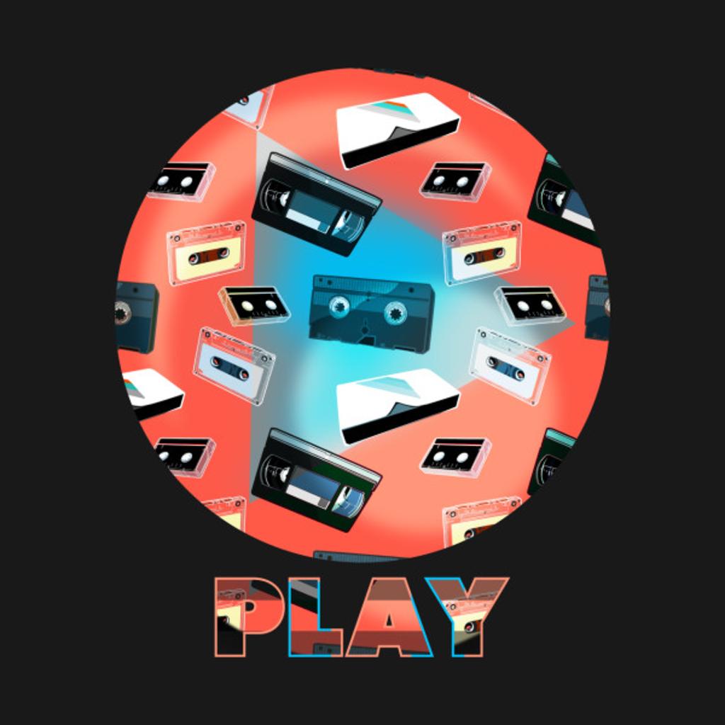 TeePublic: PLAY