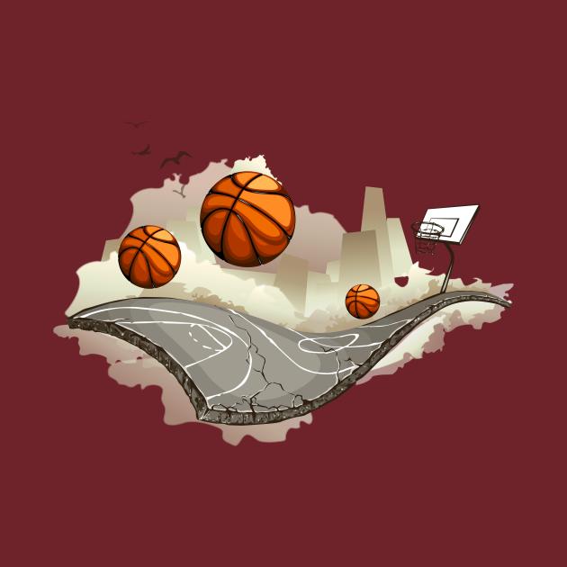 TeePublic: Creative Basketball