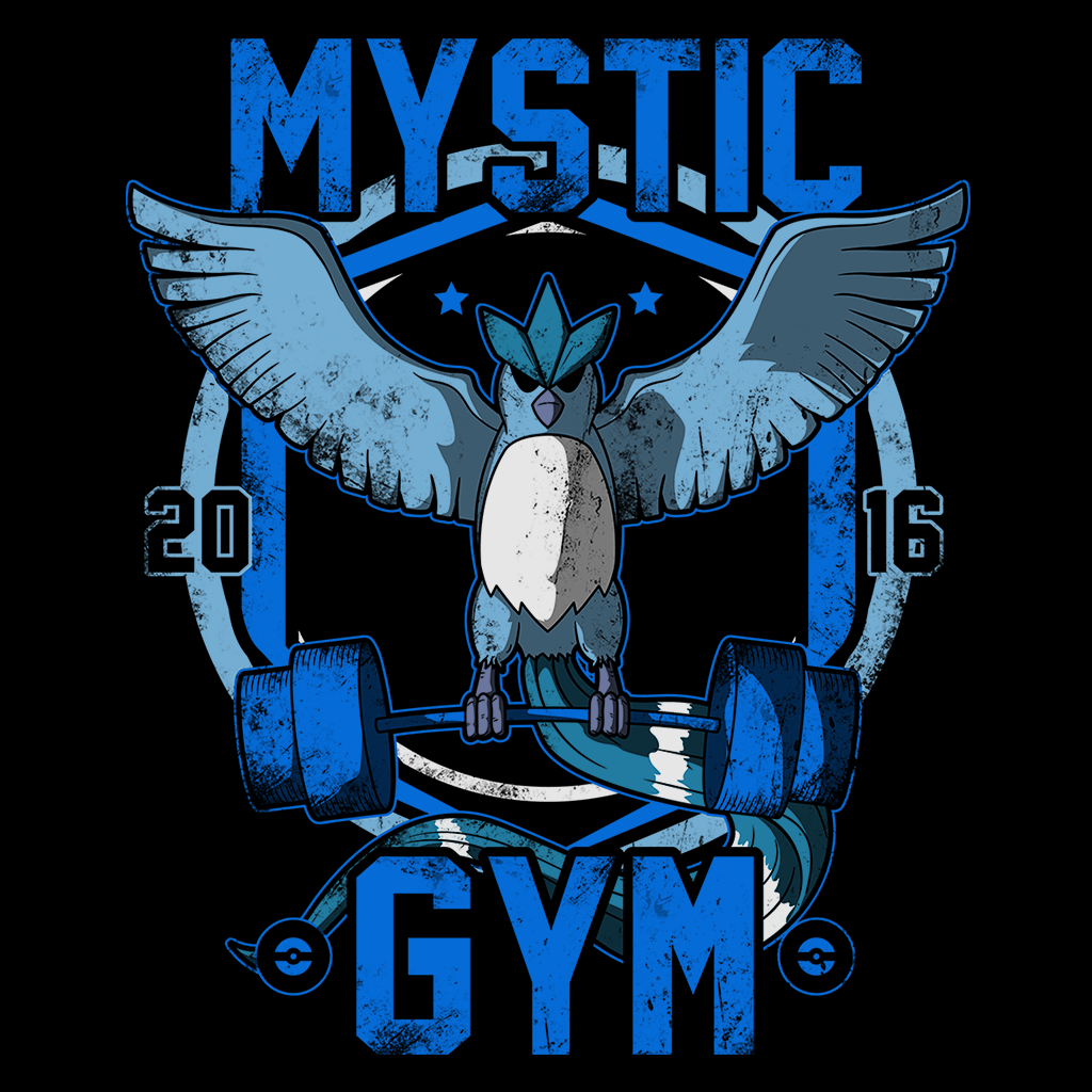 Pop-Up Tee: Mystic Gym