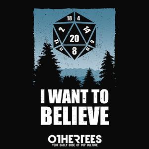 OtherTees: Believe D20