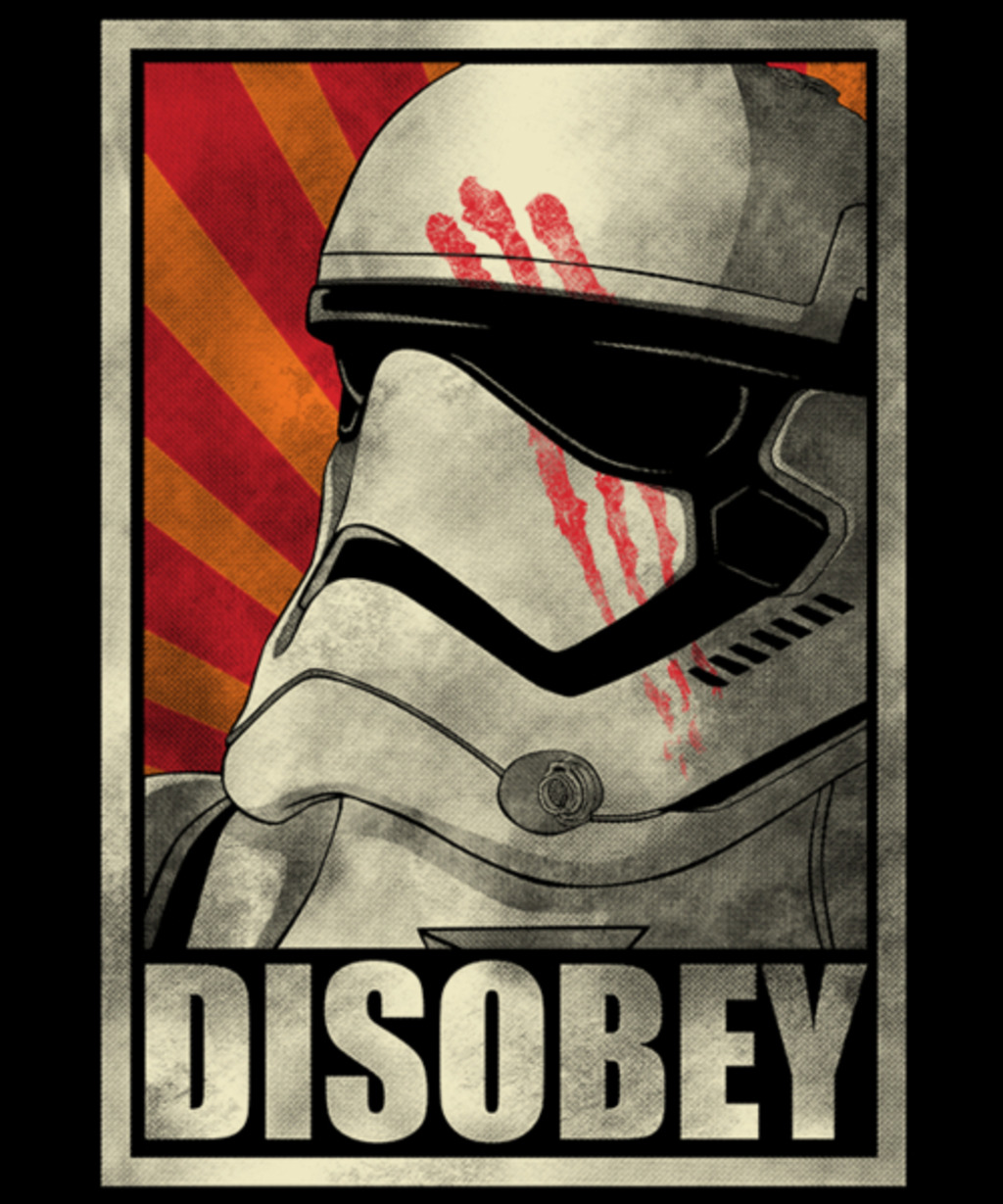 Qwertee: Disobey!