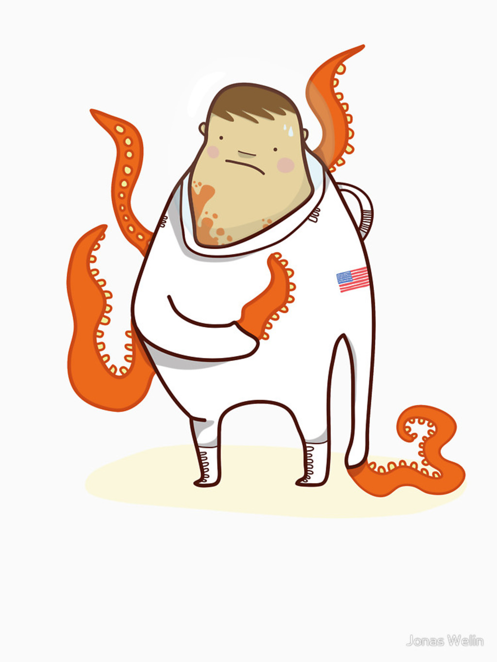 RedBubble: Astronaut - Alien takeover