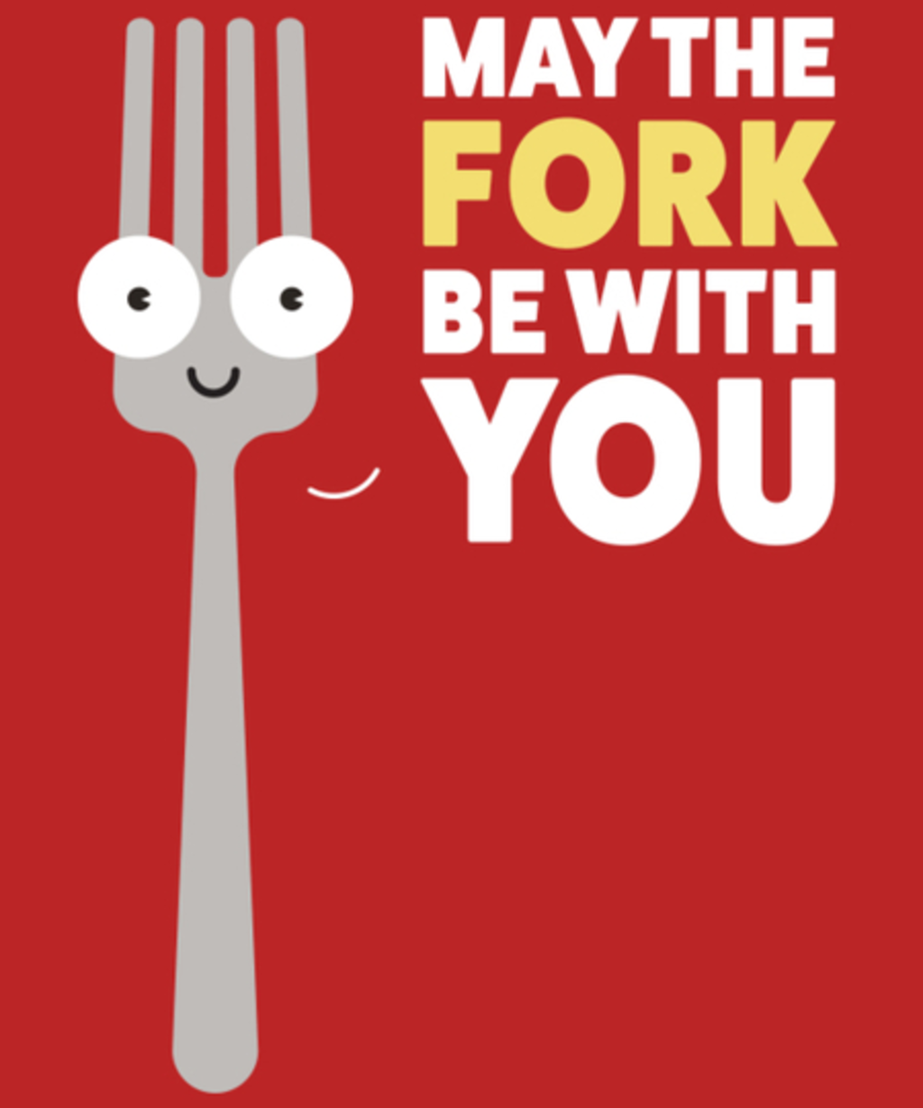 Qwertee: The fork is strong