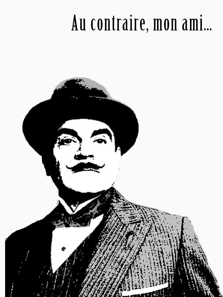 RedBubble: Hercule Poirot