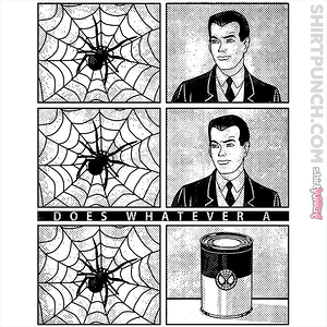 ShirtPunch: whatever a spider can