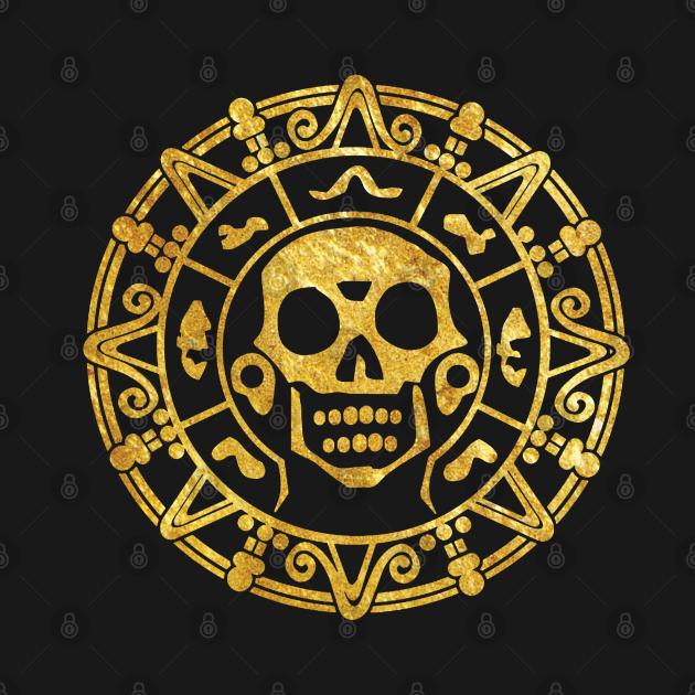 TeePublic: Gold Cortes treasure