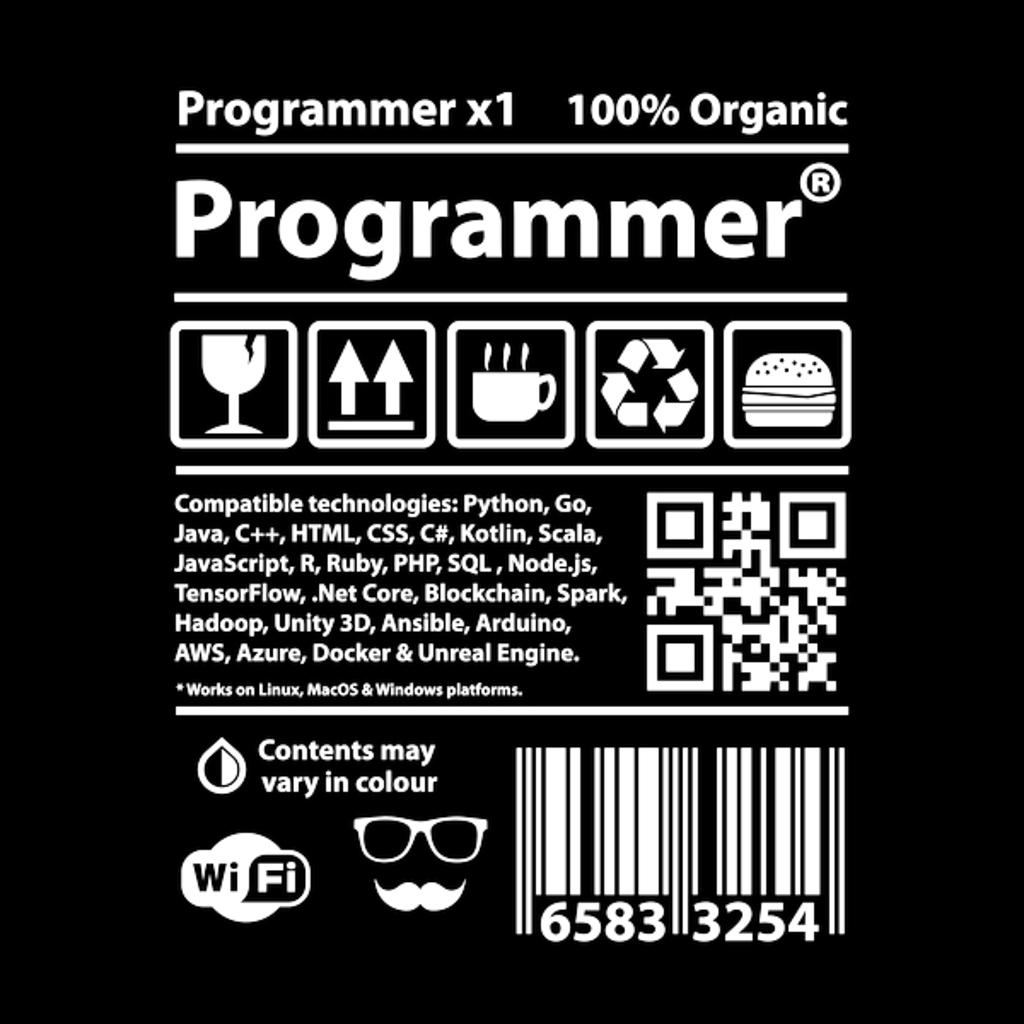 NeatoShop: Programmer