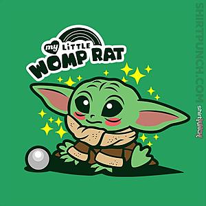ShirtPunch: My Little Womp Rat