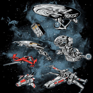 Once Upon a Tee: Ultimate Space Fleet