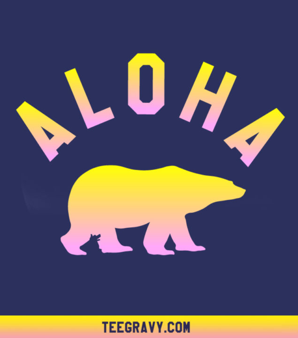 Tee Gravy: Aloha