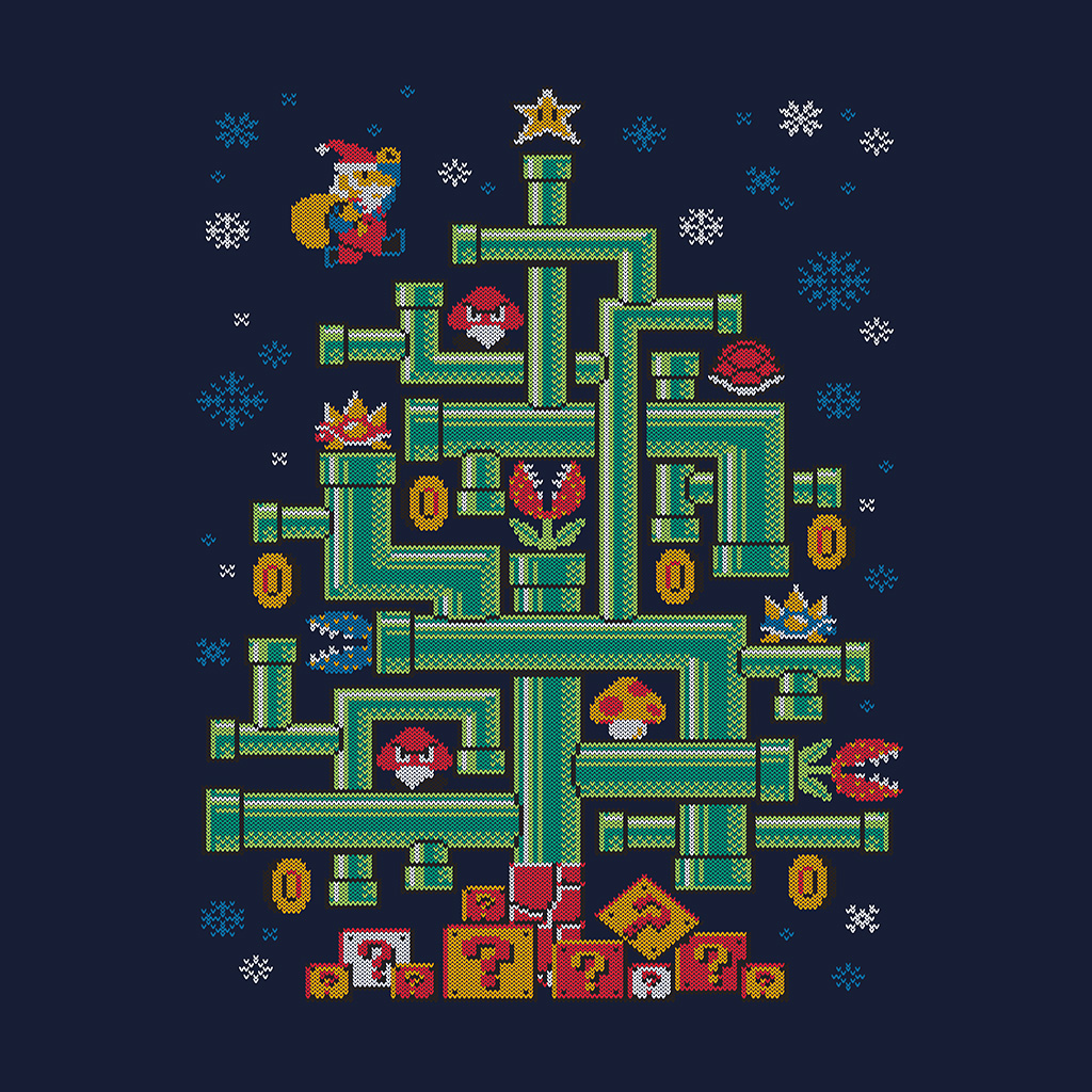 TeeTee: It's-A Tree, Mario!