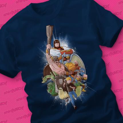 ShirtPunch: Childhood Heroes