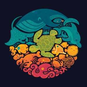 Threadless: Aquatic Rainbow