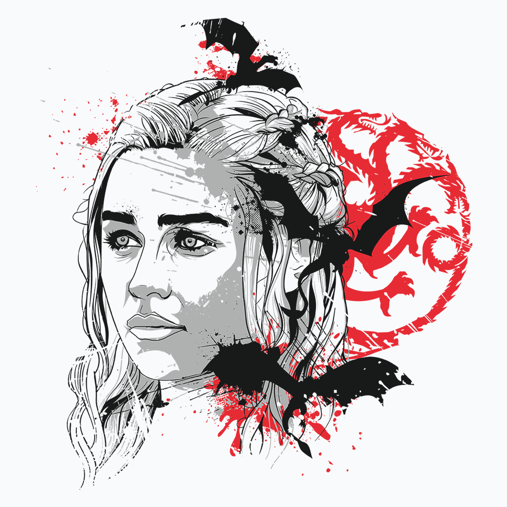 Pop-Up Tee: Mother of Dragons