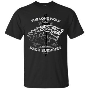 Pop-Up Tee: The Lone Wolf