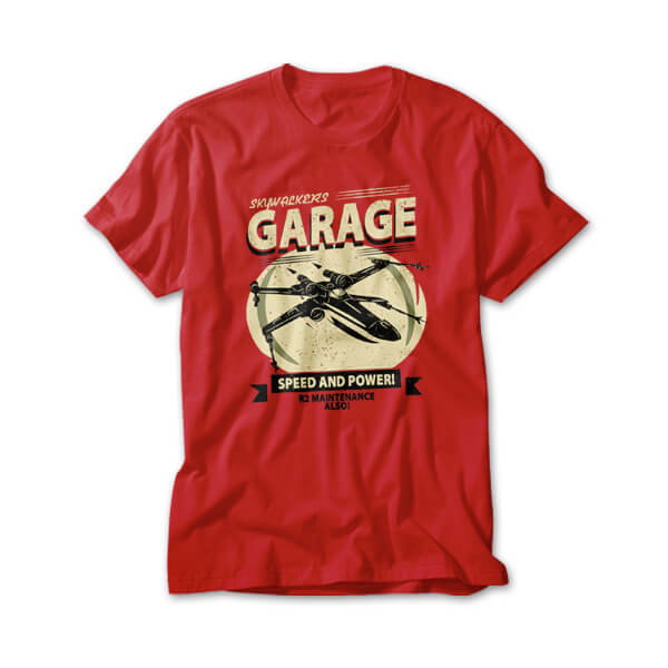 OtherTees: Speed and Power Garage