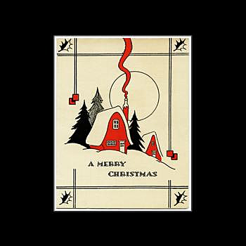 BustedTees: Vintage Merry Christmas