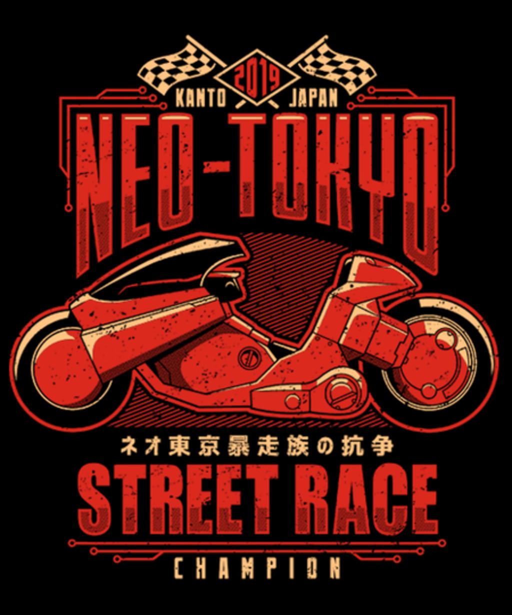 Qwertee: Neo-Tokyo Street Racing Champion