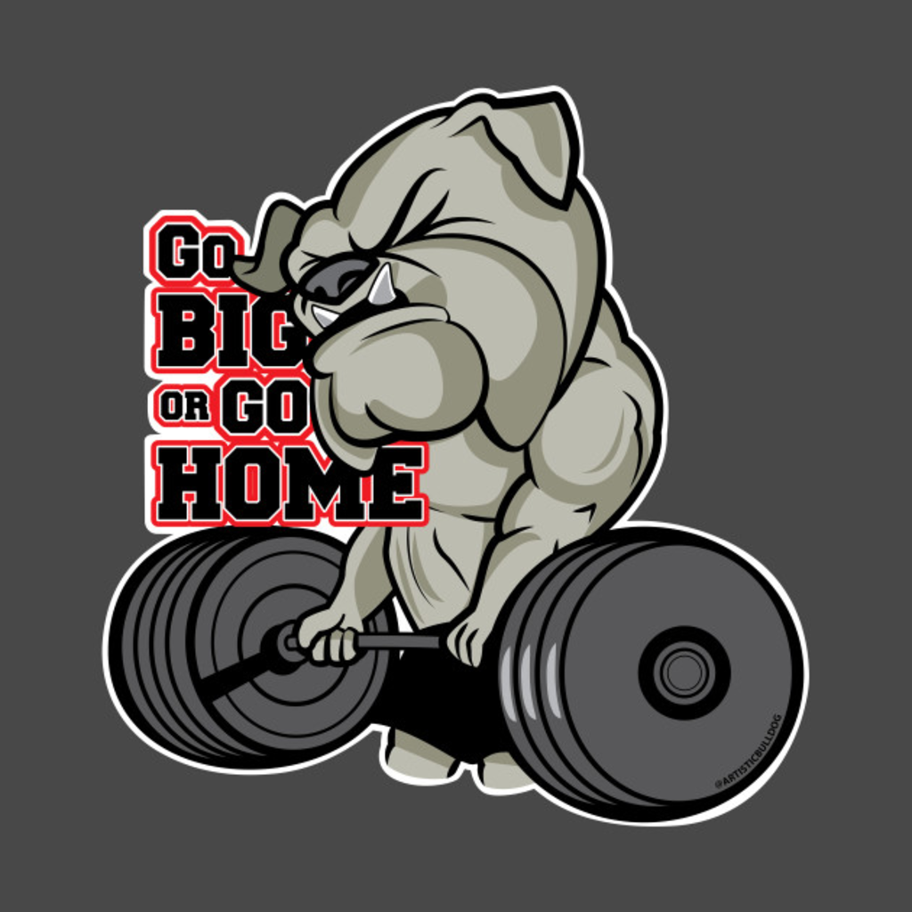 TeePublic: Bulldog Strong