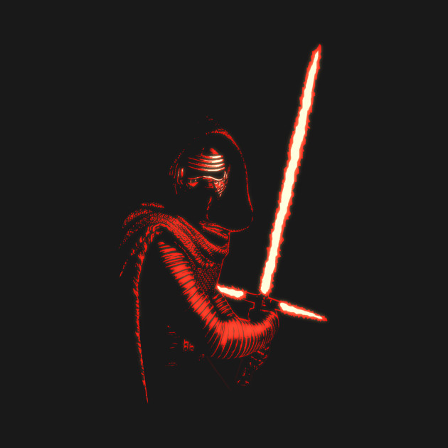 TeePublic: Kylo Ren (Power of the Darkness) T-Shirt