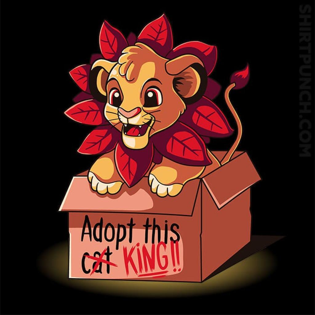 ShirtPunch: Adopt This King