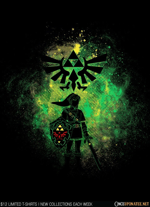 Once Upon a Tee: Hyrule Art