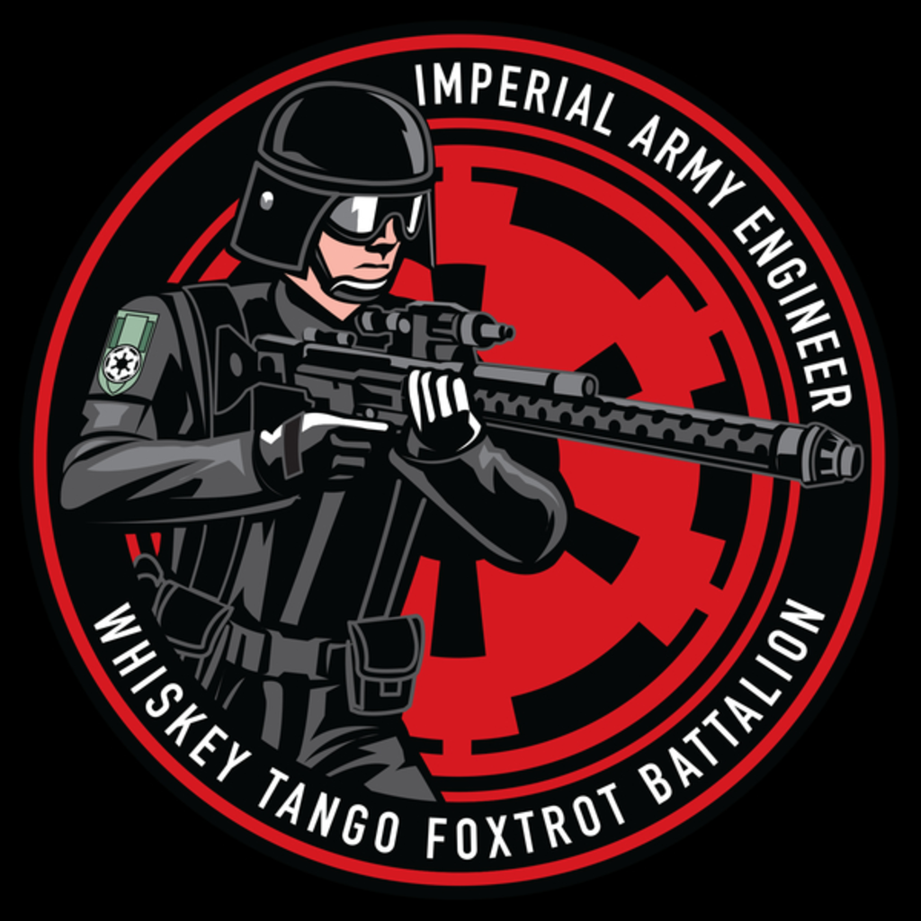 NeatoShop: Whiskey Tango F.B. Army1 T-Shirt
