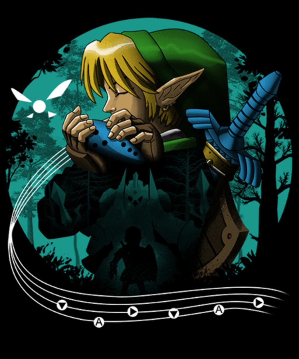 Qwertee: Hyrule Time Traveler