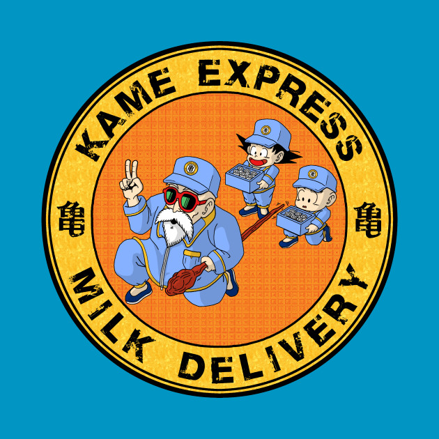 TeePublic: Kame Express Milk Delivery T-Shirt