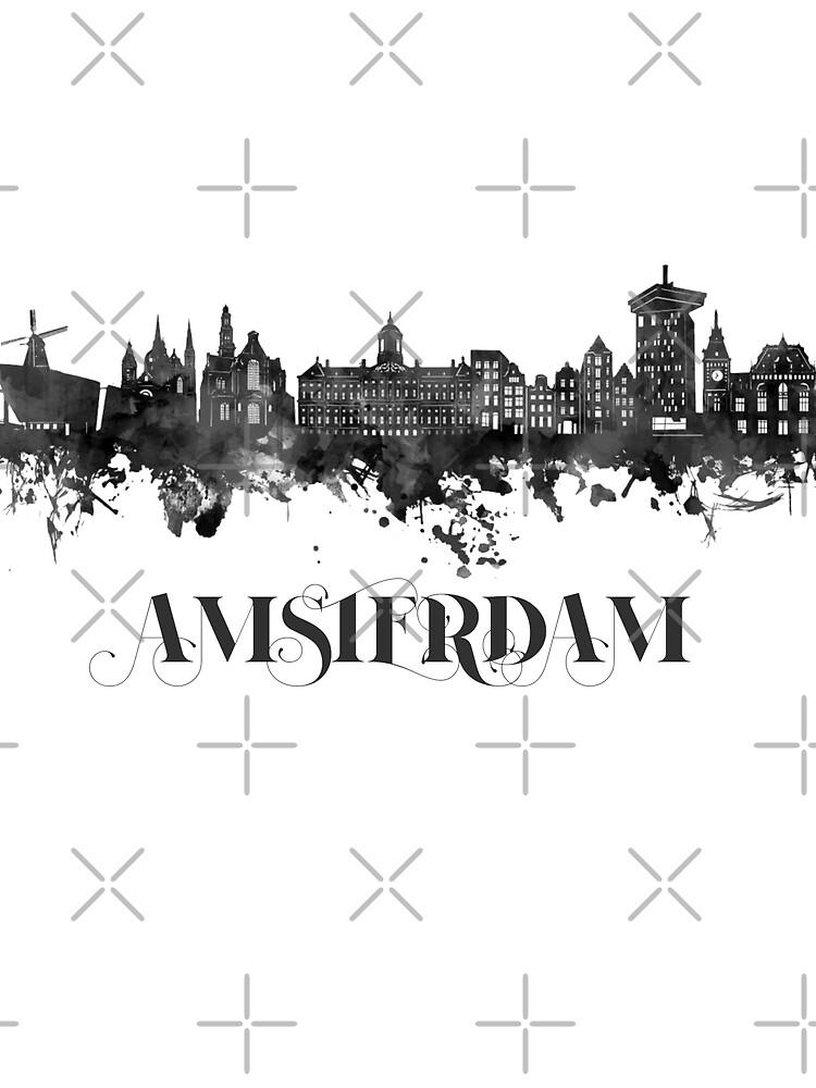 RedBubble: Amsterdam skyline