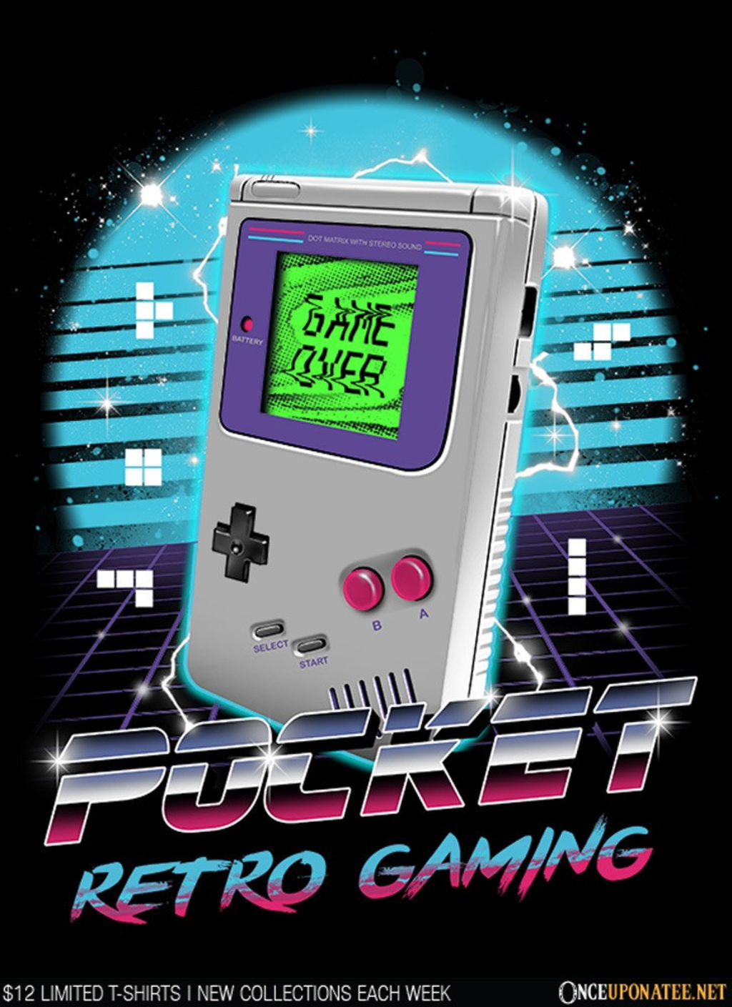 Once Upon a Tee: Pocket Retro Gaming