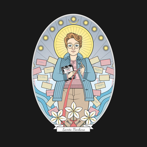 TeePublic: Saint Barb T-Shirt