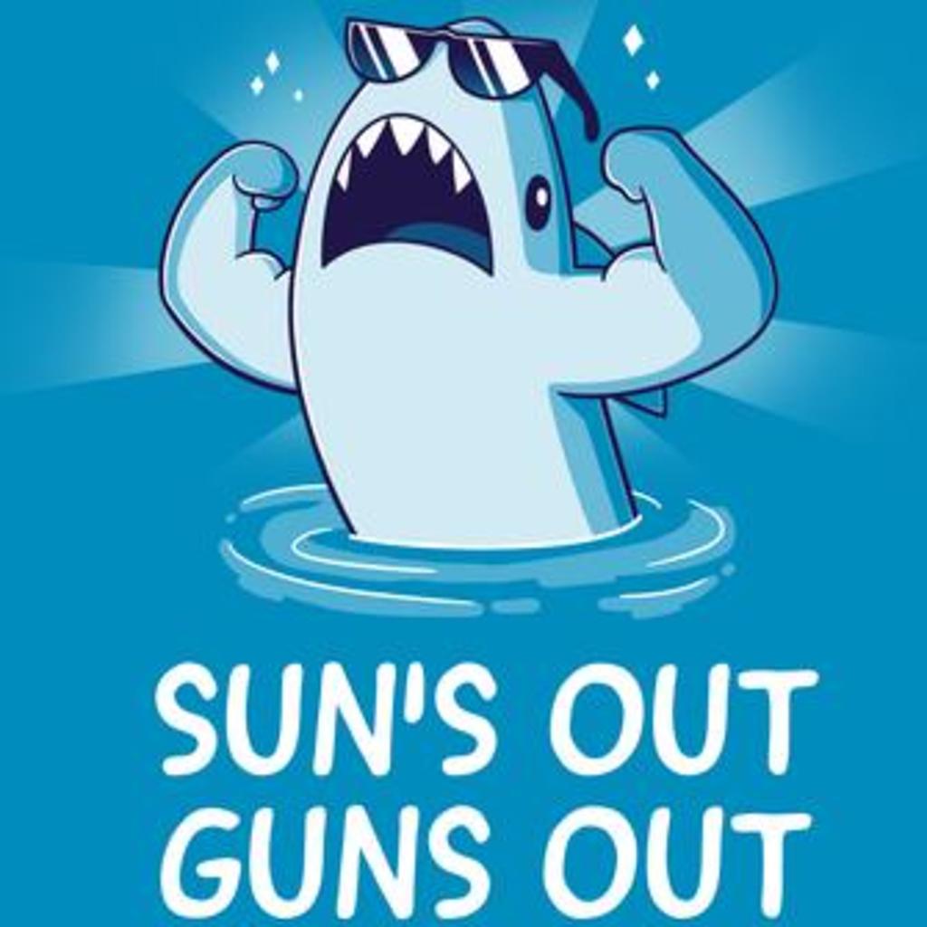TeeTurtle: Sun's Out Guns Out