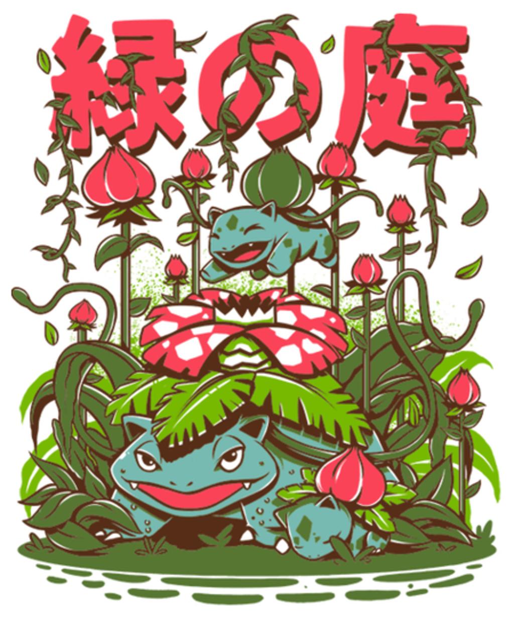 Qwertee: The Secret garden