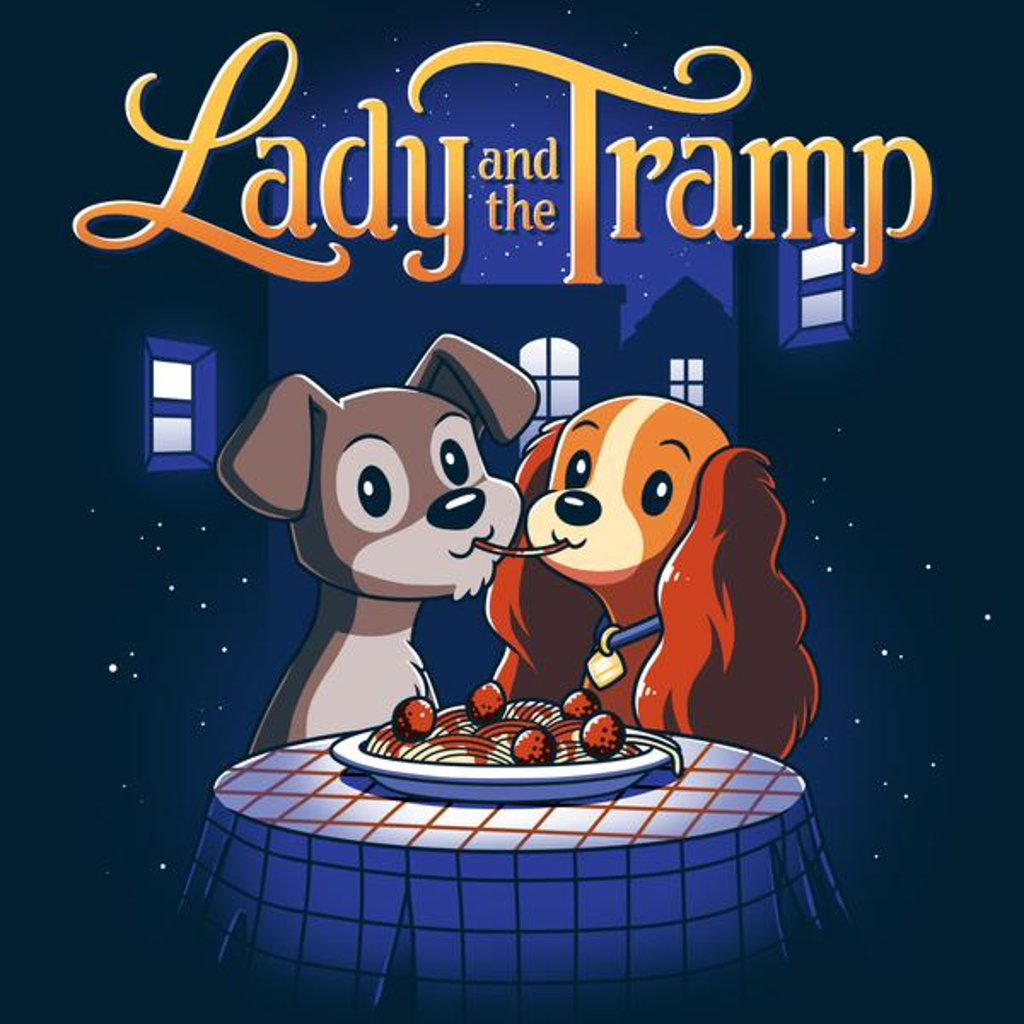TeeTurtle: Disney Lady And The Tramp