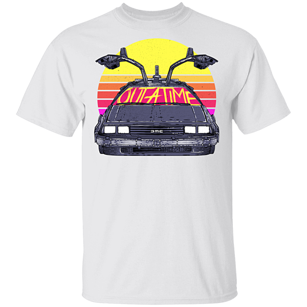 Pop-Up Tee: Outatime In The 80s