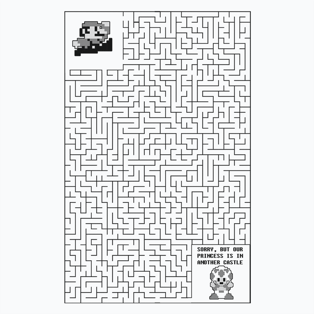 Pop-Up Tee: Wrong Maze
