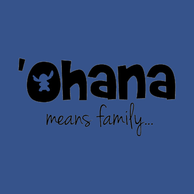TeePublic: 'Ohana means family T-Shirt