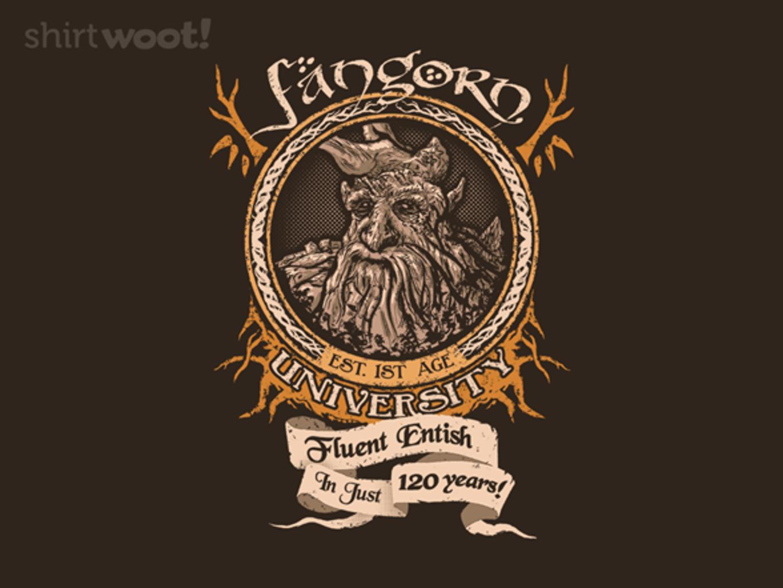 Woot!: Fangorn University