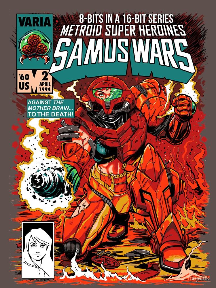 RedBubble: Samus Wars