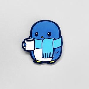 TeeTurtle: Cold Penguin Pin