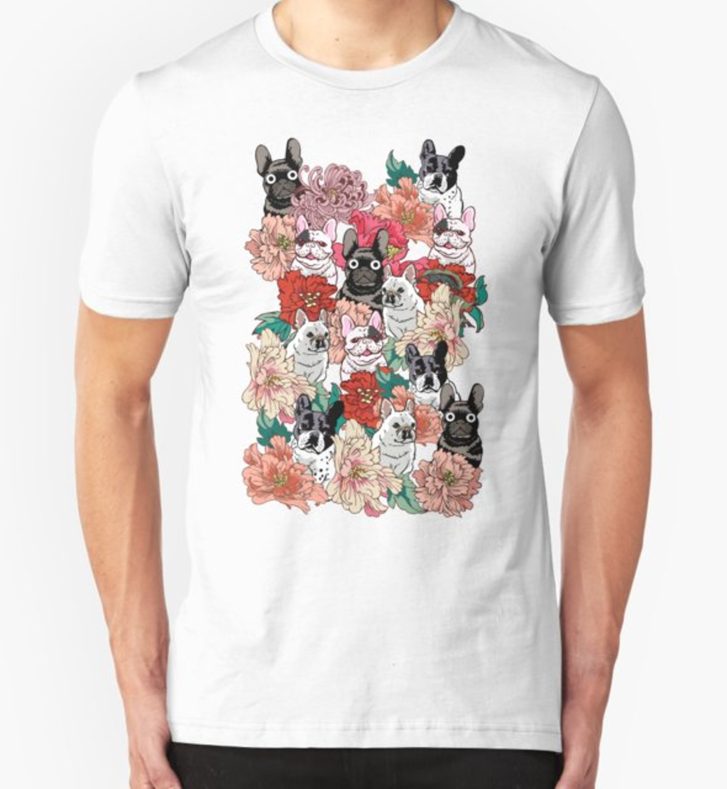 RedBubble: French BullBloom