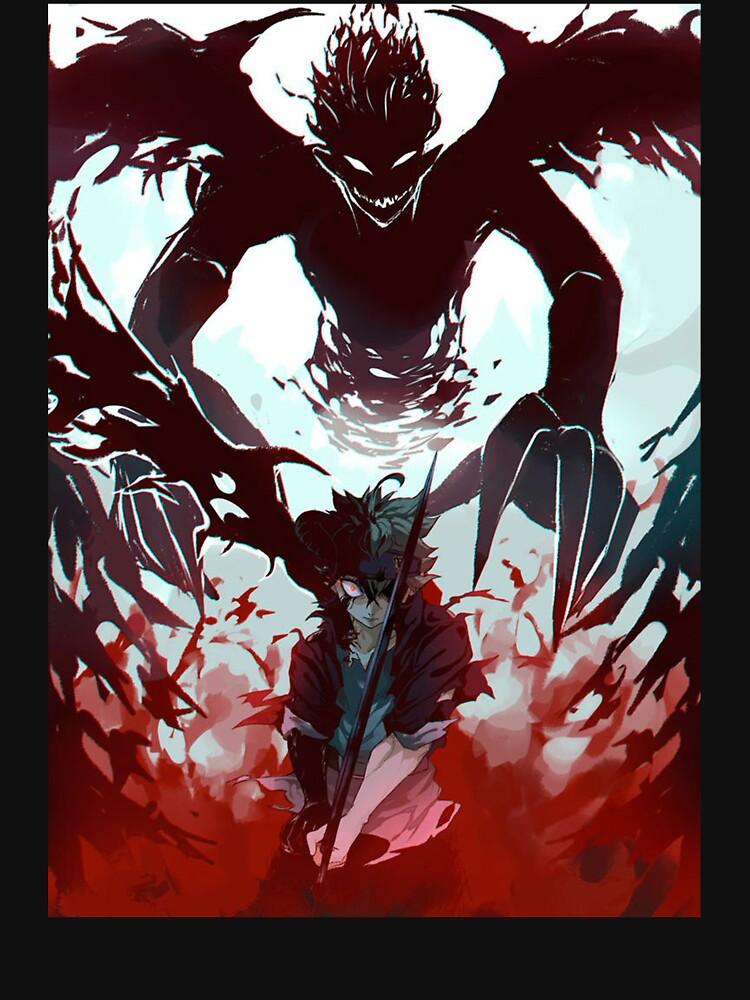 RedBubble: Demon antimagic Asta