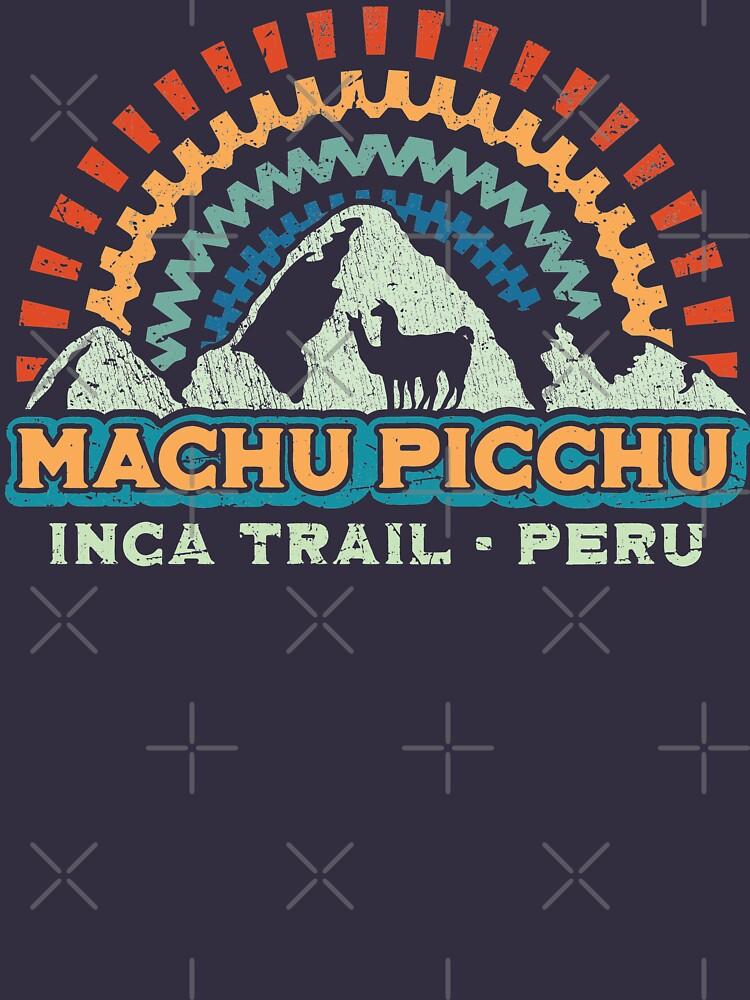 RedBubble: Machu Picchu Retro Inca - Peru