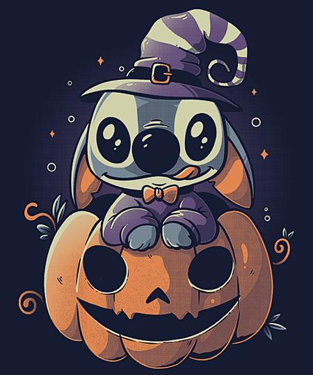 Qwertee: Ohana Pumpkin