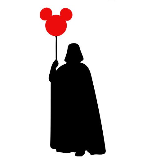 Shirt Battle: Darth And The Balloon