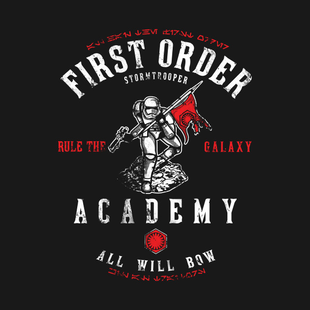 TeePublic: First Order Academy