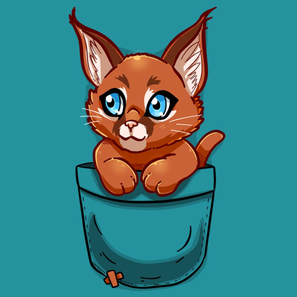 NeatoShop: Pocket Cute Caracal Kitten