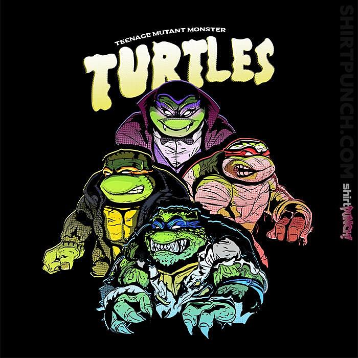 ShirtPunch: Teenage Mutant Monster Turtles